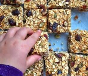 Healthy Kids Allergy Free Granola Bars