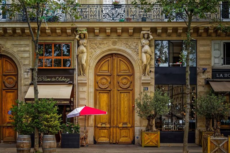 Parisian coffee shop