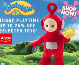 Teletubbies store from Argos